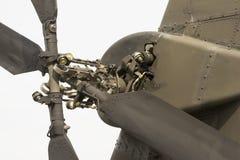 Хвостовой ротор штурмового вертолета Стоковые Изображения