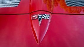 Хвостоколовый 1963 Корвета Стоковое Изображение RF
