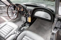 Хвостоколовый 1966 Chevrolet Corvette Стоковое фото RF