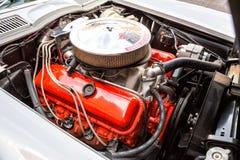 Хвостоколовый 1966 Chevrolet Corvette Стоковые Изображения RF