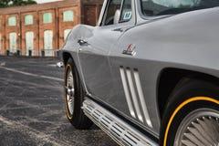 Хвостоколовый 1966 Chevrolet Corvette Стоковая Фотография