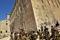 Хеврон - Израиль стоковое фото rf