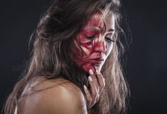 Хеллоуин живя смертельно Стоковые Фотографии RF