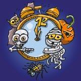 Хеллоуин на полночи Стоковые Фото