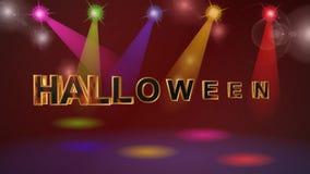 Хеллоуин, предпосылка, анимация акции видеоматериалы