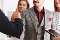 Хелпер арабского организованного бизнесмена Стоковые Фотографии RF
