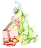хелпер 03 меньший s santa Стоковые Фотографии RF