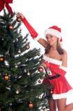хелпер s santa сексуальный Стоковые Изображения RF