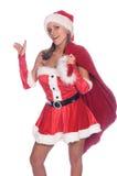 хелпер s santa сексуальный Стоковое Фото