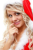 хелпер santa обольстительный Стоковая Фотография