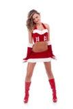 хелпер santa сексуальный Стоковое Изображение RF
