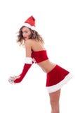 хелпер santa сексуальный Стоковая Фотография RF