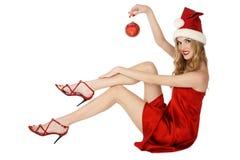 хелпер santa Стоковое Изображение RF