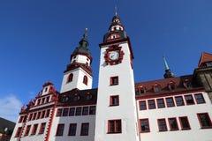 Хемниц, Германия стоковое изображение rf