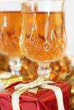 херес подарка рождества цветастый Стоковые Изображения