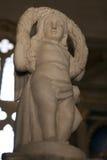Херувим на виске Malatesta Римини Стоковое Изображение RF