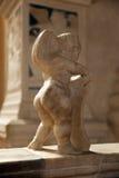 Херувим на виске Malatesta Римини Стоковое фото RF