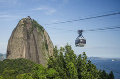 Хец сахара, Рио Де Жанеиро Стоковые Фотографии RF