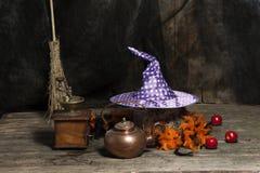 Хеллоуин все еще в реальном маштабе времени Стоковые Изображения