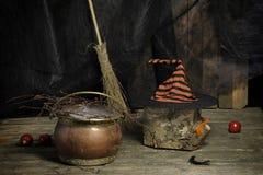 Хеллоуин все еще в реальном маштабе времени Стоковое Фото