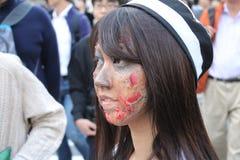 Хеллоуин в Shibuya Стоковое Фото