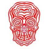 Хеллоуин и день мертвого черепа Стоковая Фотография RF