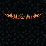 Хеллоуин и картина вектора темы зомби безшовная Стоковая Фотография RF