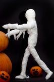 Хеллоуин и смешное зомби Стоковые Фото