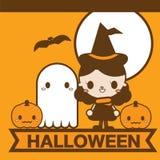 Хеллоуин милый Иллюстрация вектора