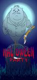 Хеллоуин party002 Стоковые Изображения