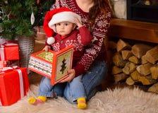 Хелпер Santas маленький Стоковые Изображения