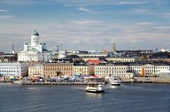 Хельсинки. Финляндия. Стоковые Изображения