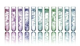 химикаты цветастые стоковое фото rf