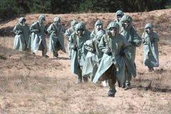 химикат нападения Стоковая Фотография RF
