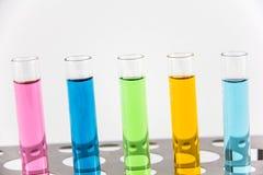 Химикат, наука, лаборатория, пробирка, лабораторное оборудование Стоковая Фотография