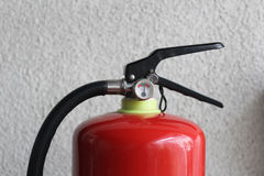 Химикат огня и оборудований безопасности сухой стоковая фотография rf