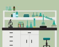 химическая лаборатория Стоковое фото RF