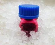Химическая бутылка стоковое изображение