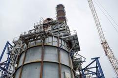 Химическая емкость и завод трубы atsmithchemical стоковое фото rf