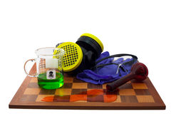 химическая игра отсутствие безопасности Стоковые Фотографии RF