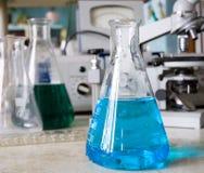 химическая лаборатория Стоковые Фото