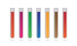 Химическая пробирка Стоковое фото RF
