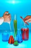 химическая промышленность Стоковая Фотография