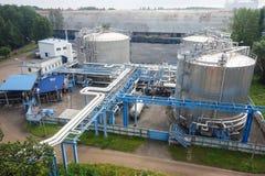 химическая промышленность Стоковые Изображения