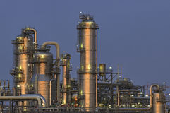 химическая установка Стоковое Фото
