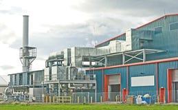 химическая фабрика самомоднейшая Стоковое фото RF