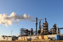 химическая фабрика Стоковое Фото
