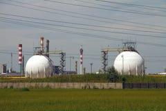 химическая фабрика Стоковые Фото