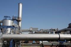 химическая фабрика Стоковые Фотографии RF
