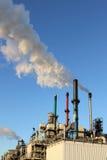 химическая фабрика europoort Стоковые Фотографии RF